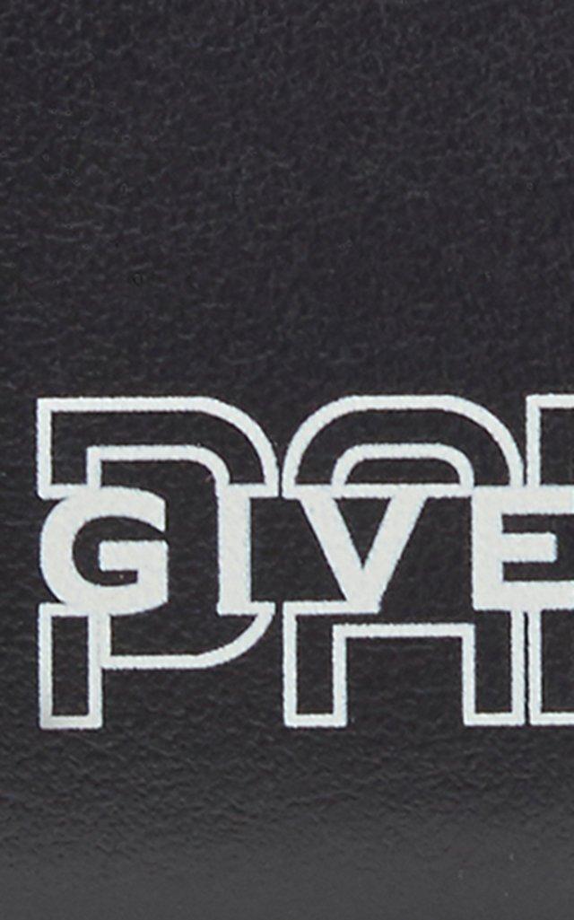 Logo-Print Leather Cardholder