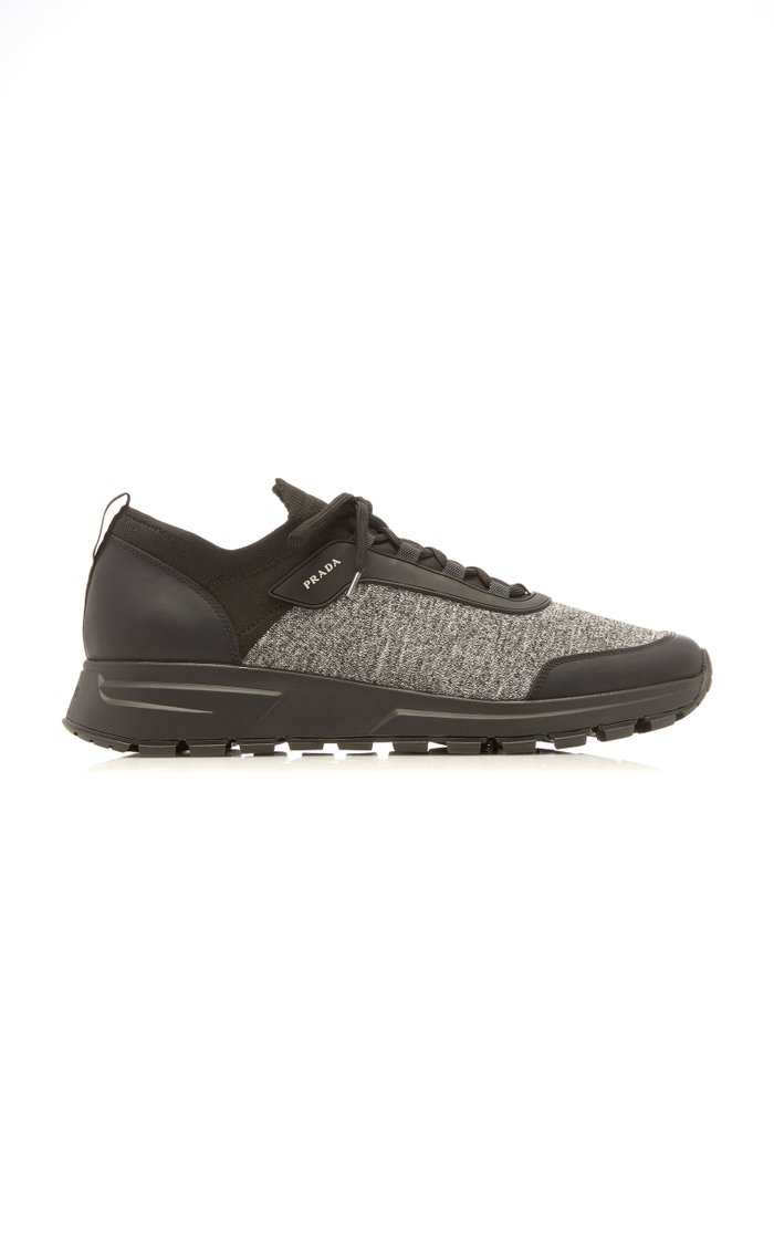 Prax Jersey Runner Sneakers