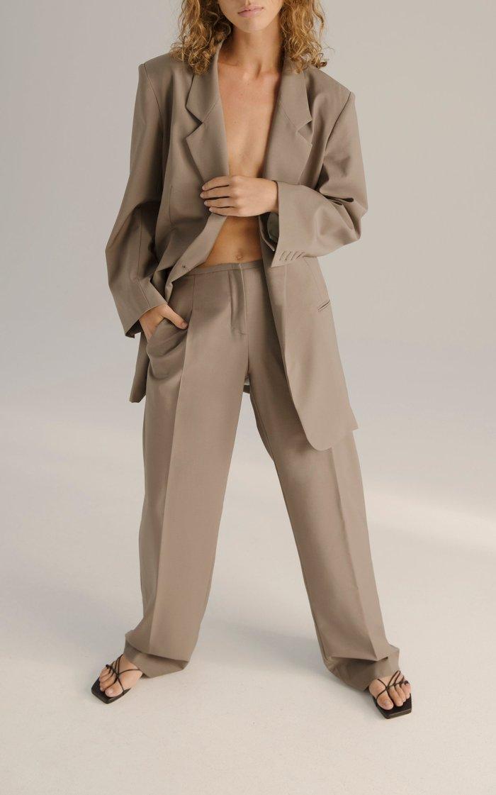 Boy Scout Belted Wool Blazer