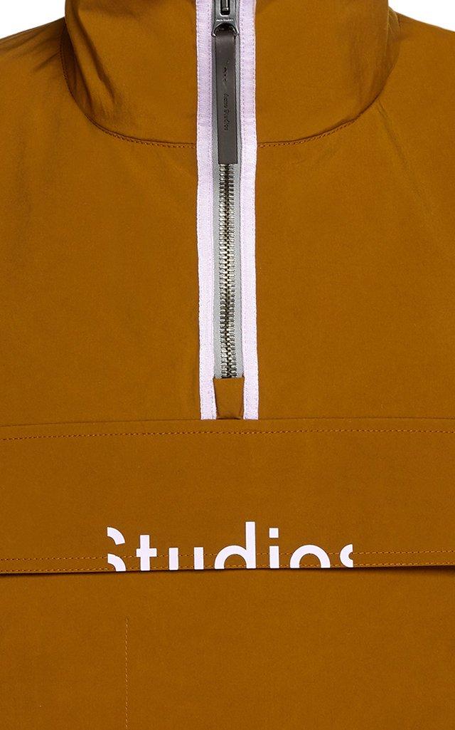 Logo-Printed Shell Jacket
