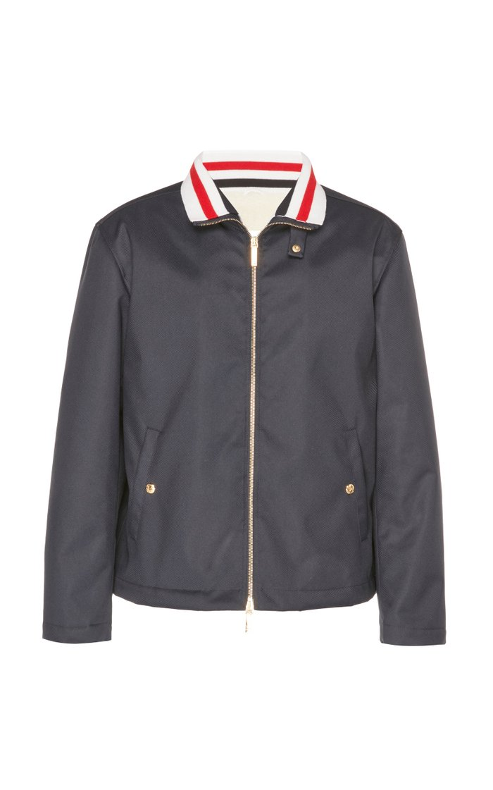 Fur Lined Funnel Neck Jacket