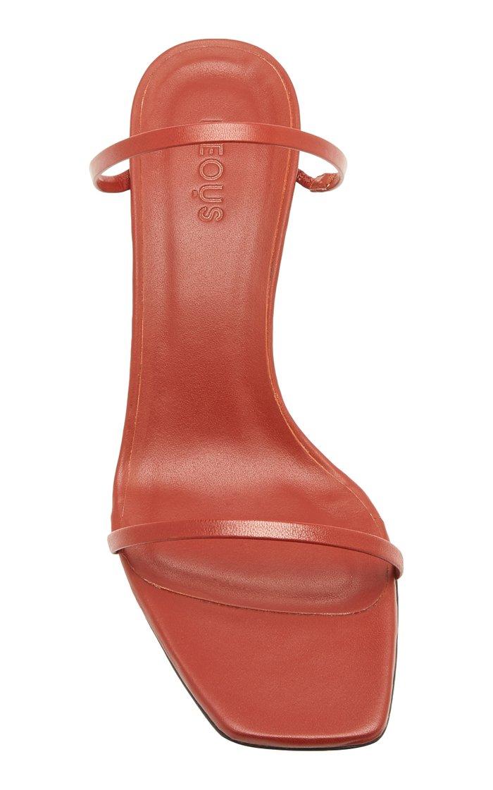 Fadenia Leather Sandals