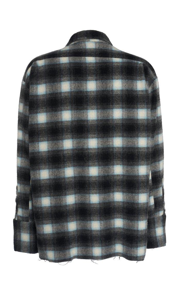 Plaid Wool Shirt