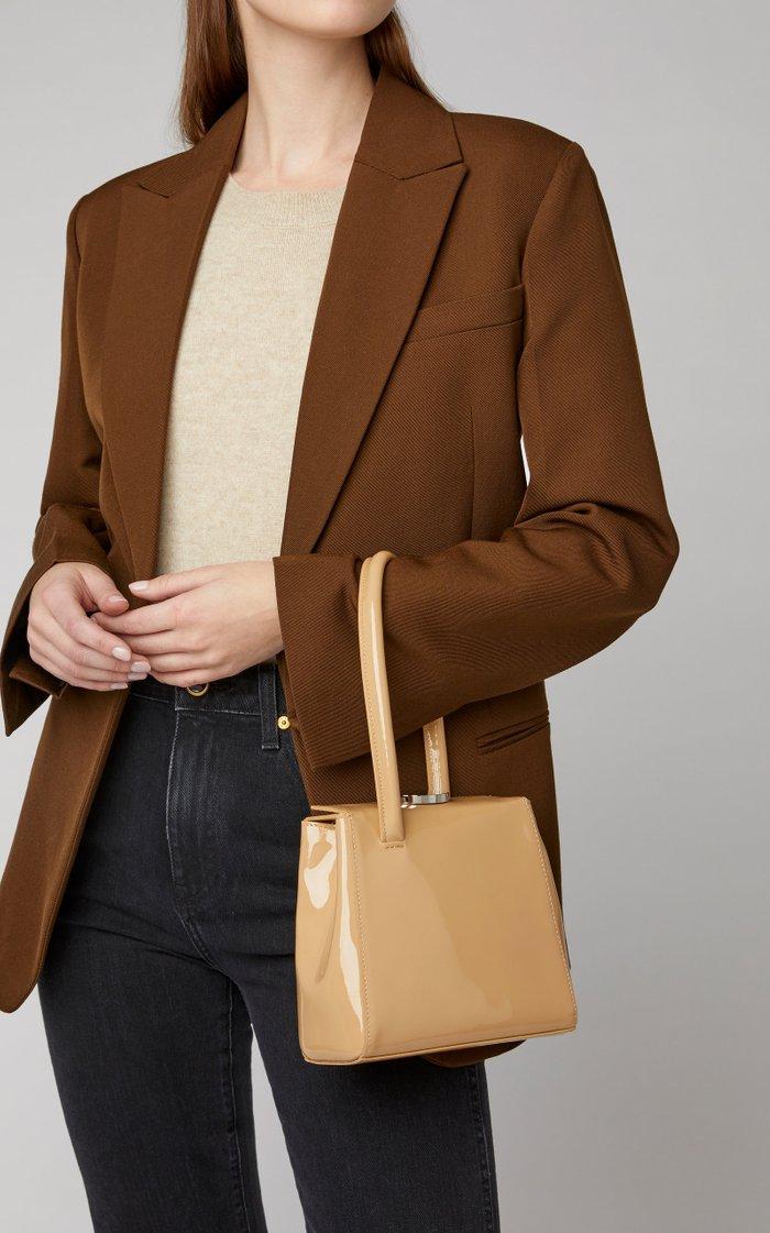 Mademoiselle Patent Leather Bag