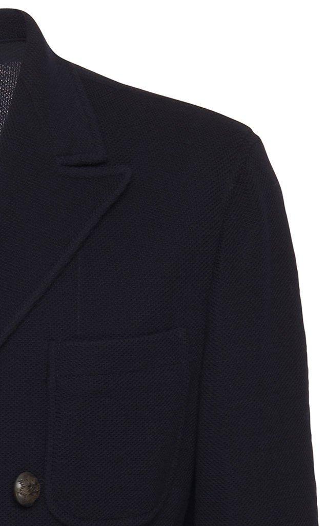 Ziggy Double-Breasted Wool-Blend Blazer