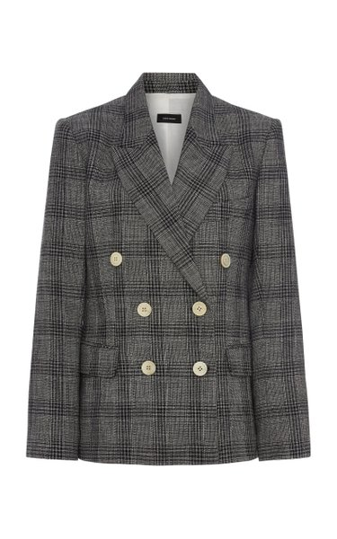 Dallin Prince-Of-Wales Checked Cotton-Blend Blazer