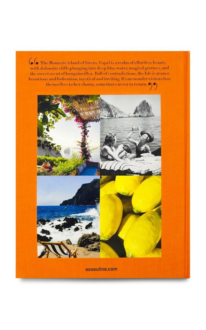 Capri: Dolce Vita Hardcover Book