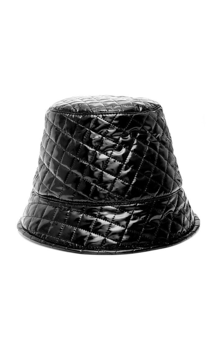 Souna Quilted Vinyl Bucket Hat