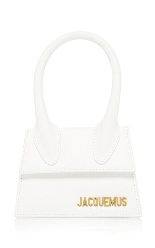 Le Chiquito Textured-Leather Bag