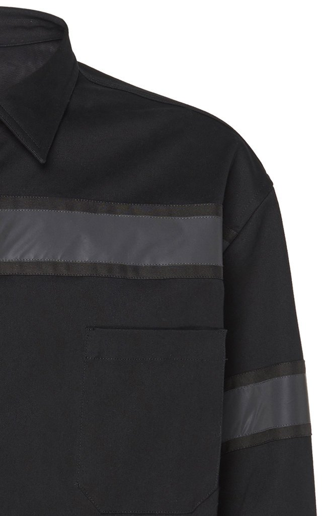 Printed Cotton-Drill Shirt