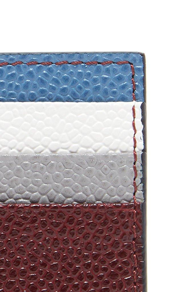 Funmix Pebble-Grain Leather Cardholder