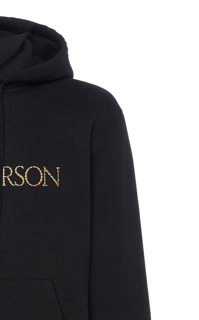 Logo-Embroidered Cotton-Jersey Hooded Sweatshirt