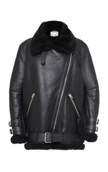 Velocite Oversized Shearling Jacket