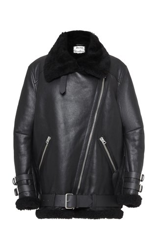 Velocite Oversized Shearling Jacket