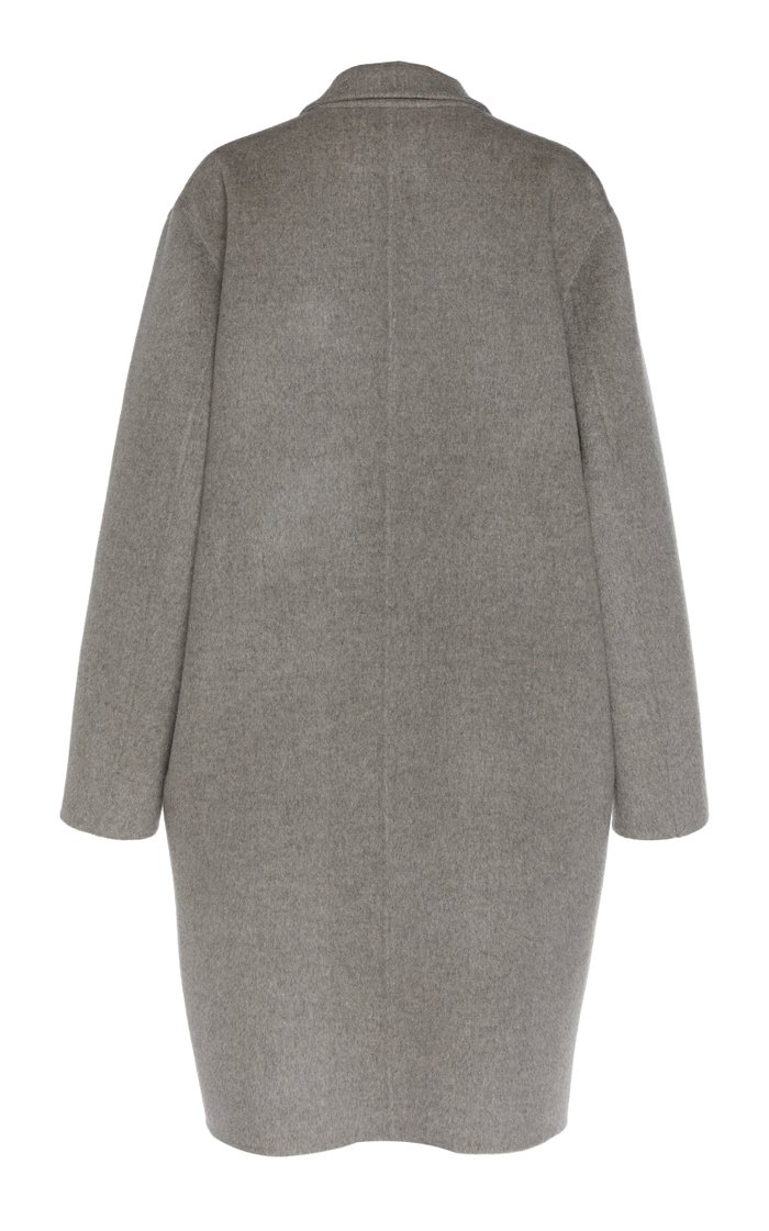 Oluma Oversized Wool-Blend Coat