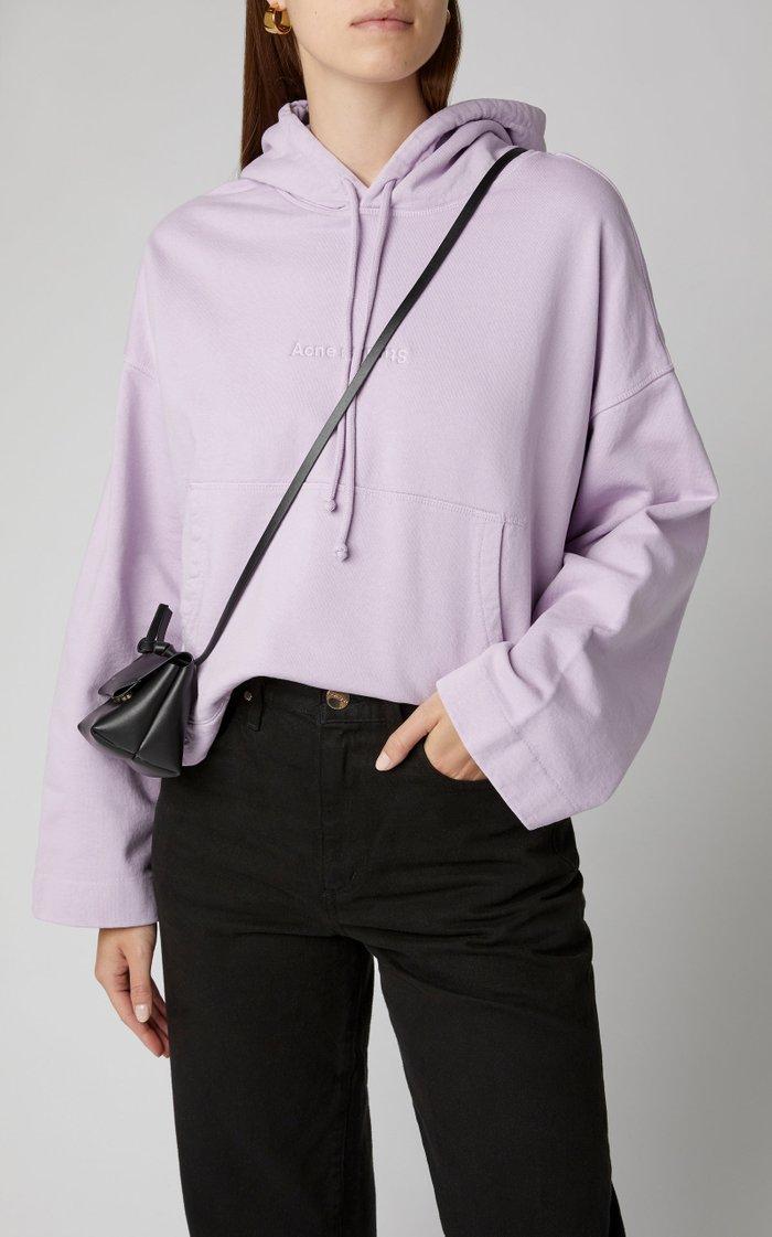 Joghy Logo-Embossed Cotton-Jersey Hooded Sweatshirt