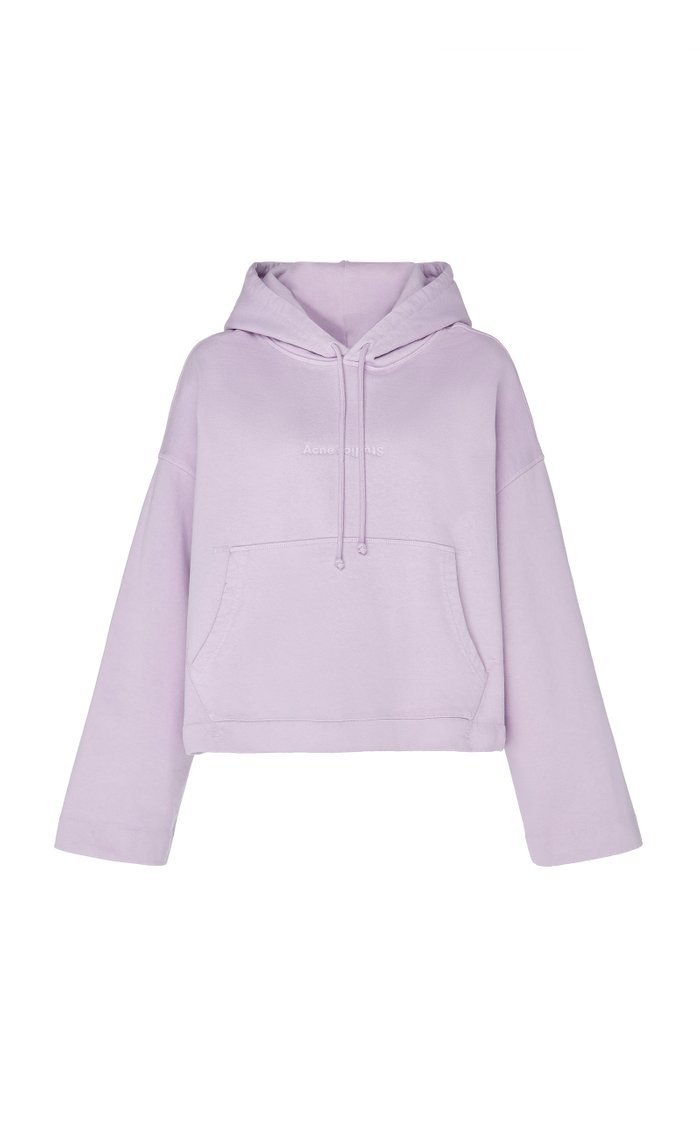 Joghy Logo-Embossed Cotton-Jersey Hooded Sweatshirt