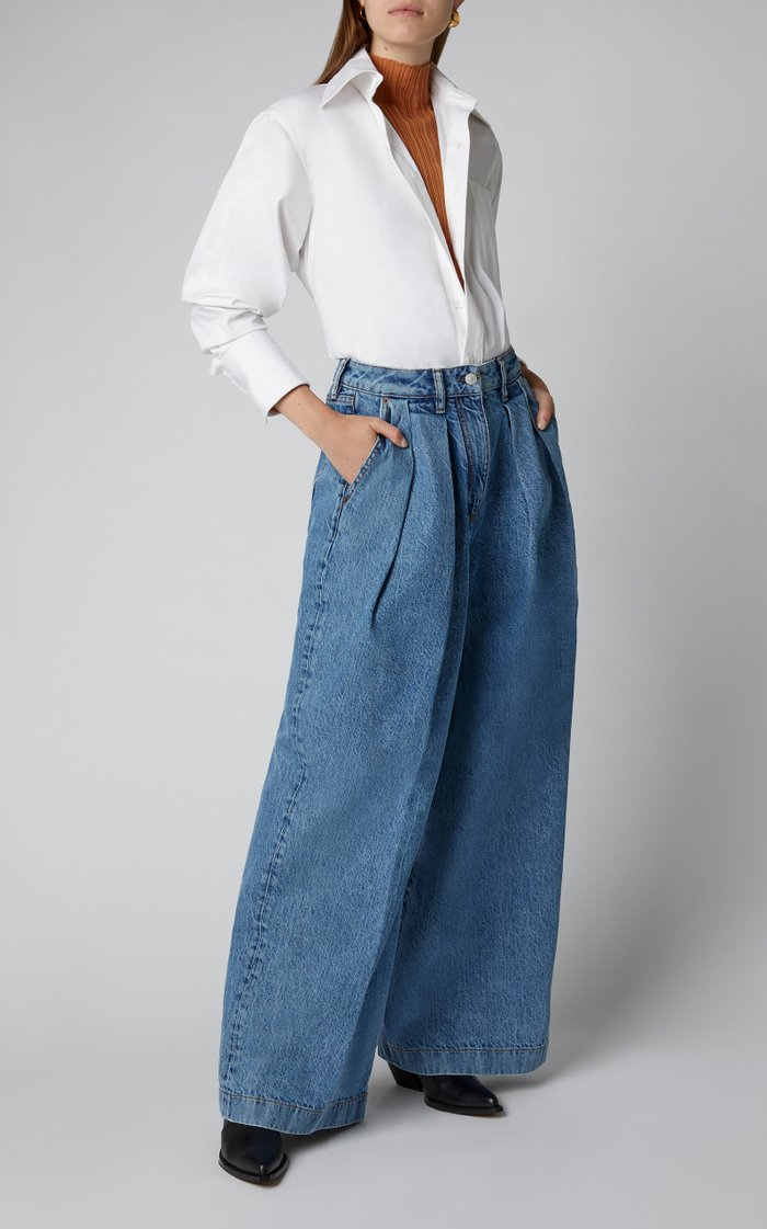 Pakita High-Rise Wide-Leg Jeans