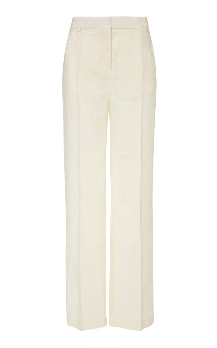 Pila Straight-Leg Trouser Pants