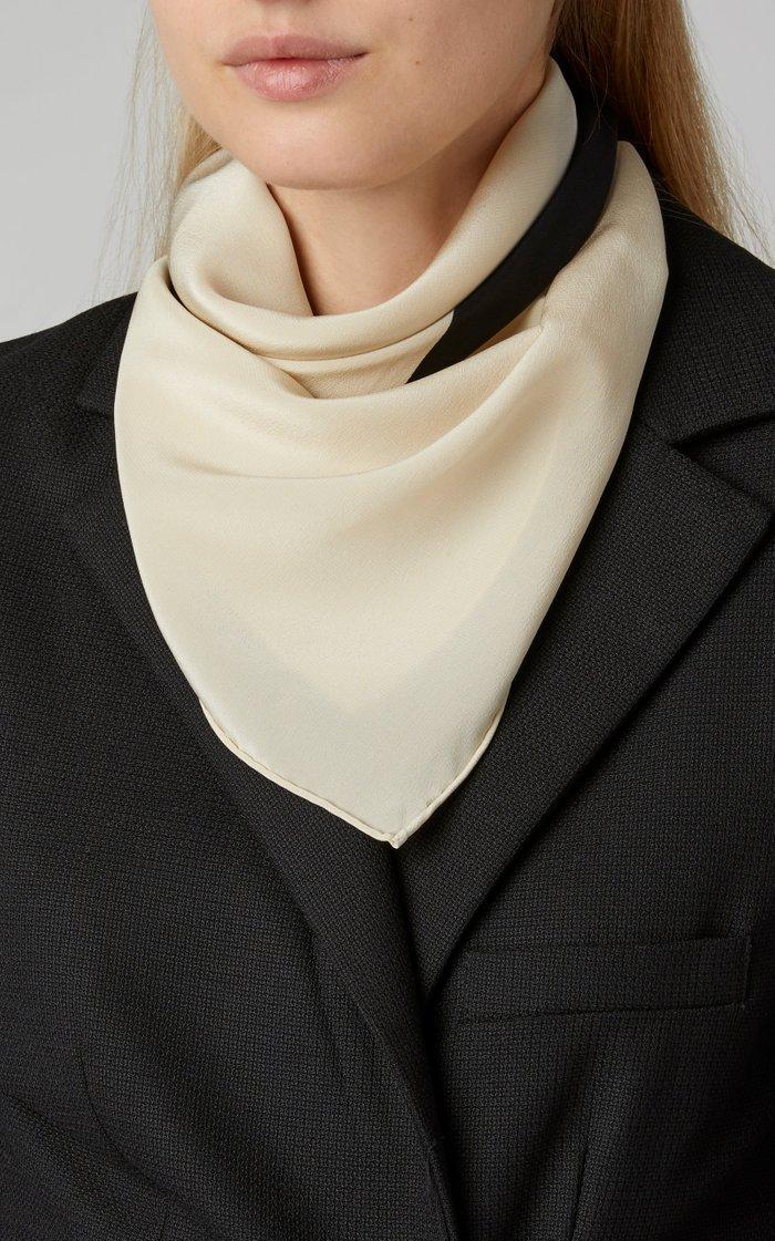 San Vito Printed Silk-Twill Scarf