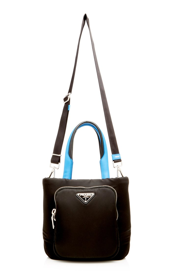 Two-Tone Shell Tote