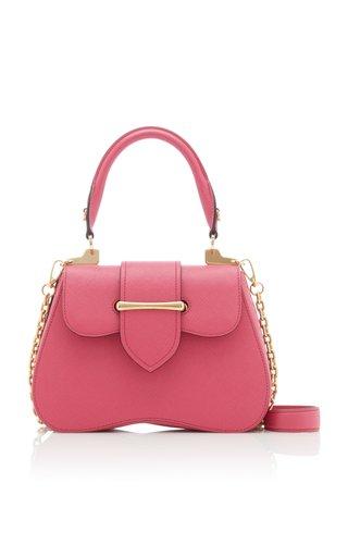 Sidonie Textured-Leather Shoulder Bag