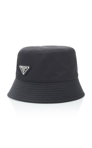 Logo-Embellished Shell Bucket Hat