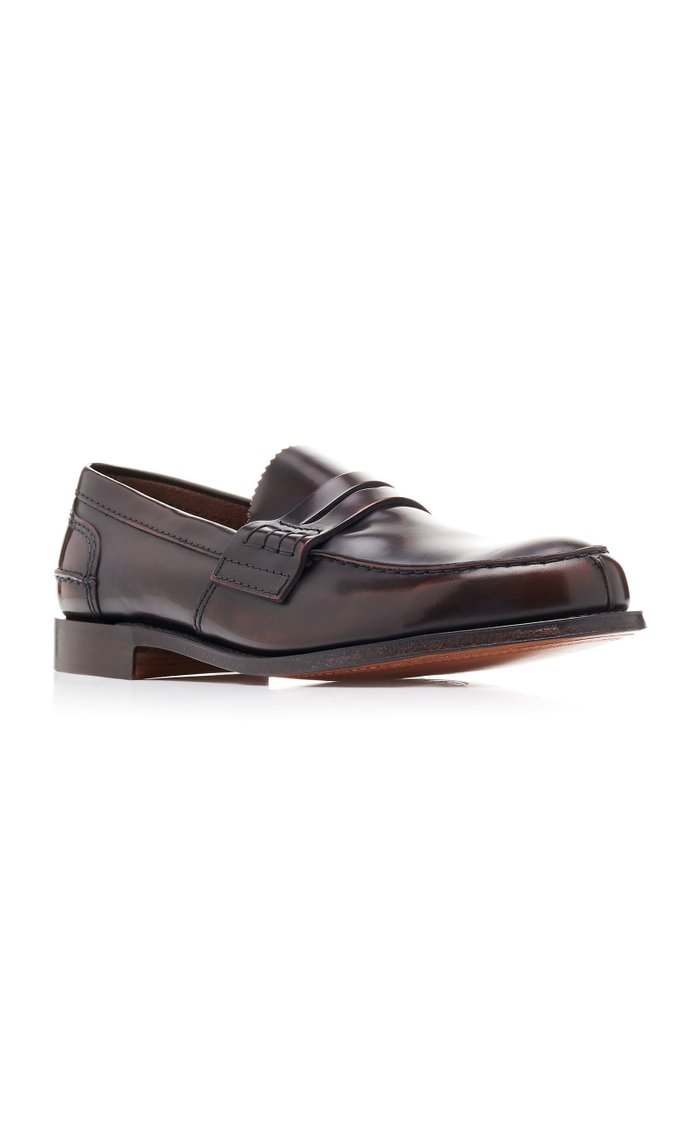 Tunbridge Leather Loafers