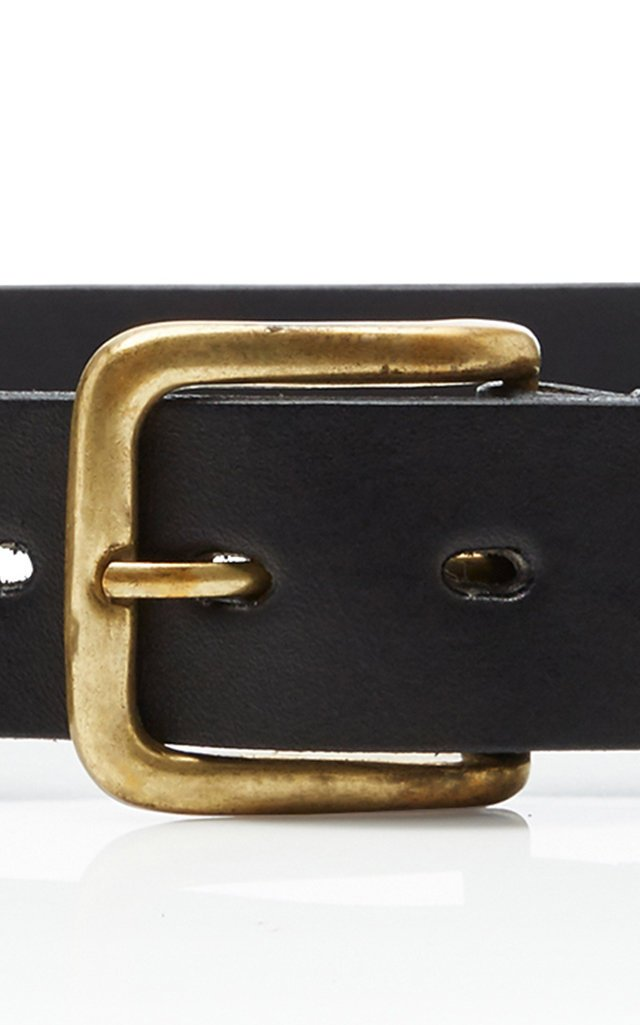 NF Cross Leather Belt