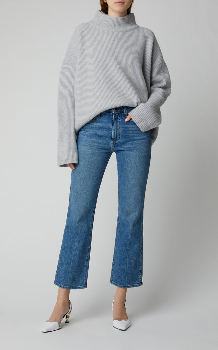 Pilota Ribbed-Knit Oversized Wool And Cashmere Blend Sweater
