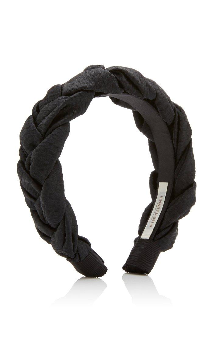 Lorelei Braided Hammered Silk Headband
