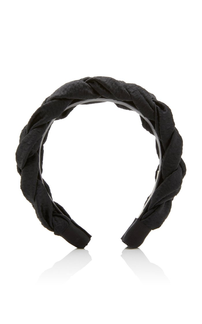 Lorelei Braided Hammered Silk Headband