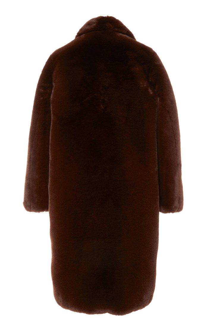 Laure Faux-Fur Coat
