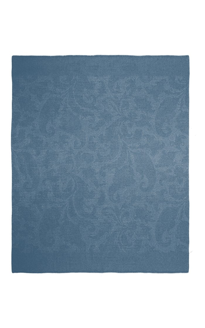 Nailliers Muted Paisley-Print Wool Throw