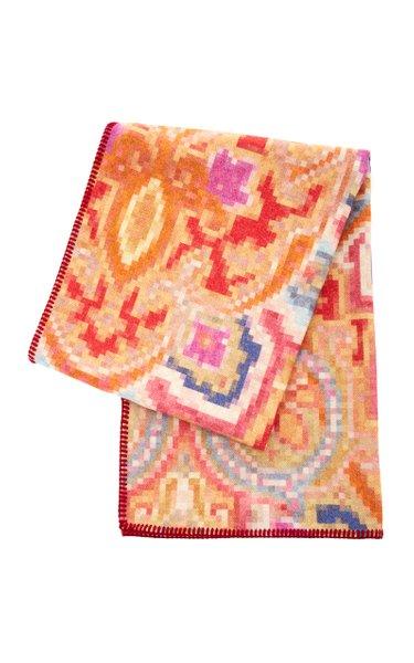 Igualeja Printed Wool Throw