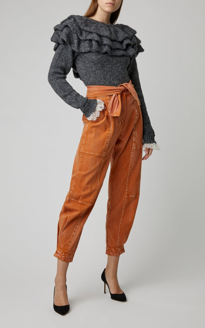 Storm High-Rise Tapered Jeans