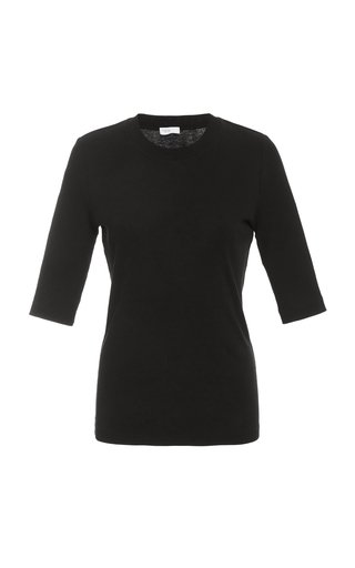 Fitted Cotton T-Shirt
