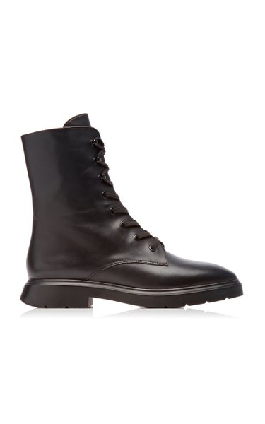 Mckenzee Leather Ankle Boots
