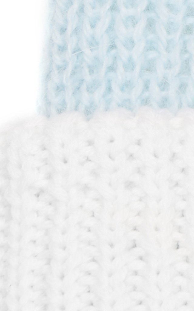 Heather Reversible Wool-Blend Beanie