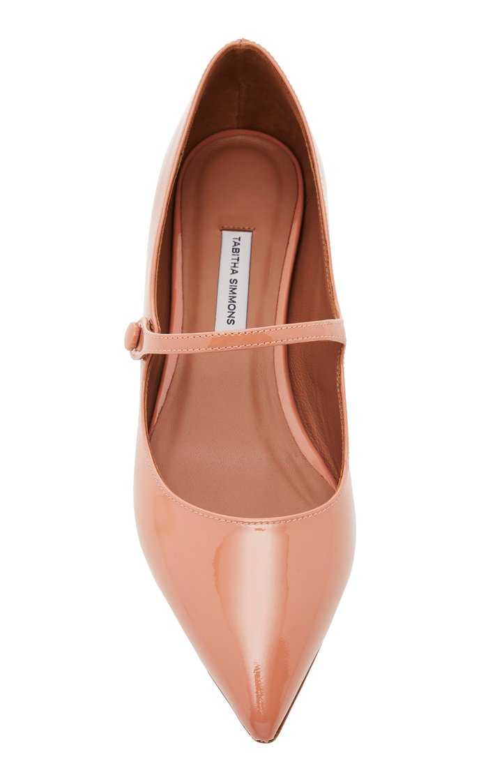 Hermione Patent Leather Flats