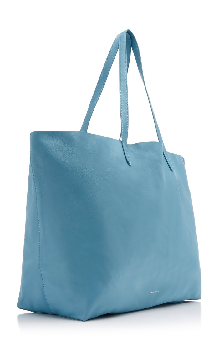 Oversized Lambskin Tote Bag