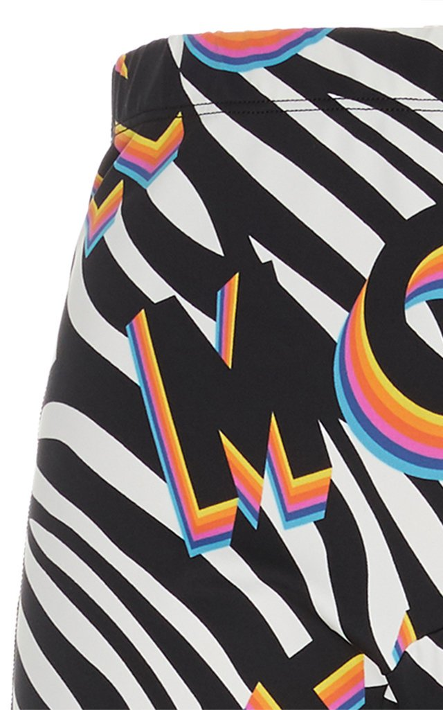 0 Moncler Richard Quinn Printed Stretch-Jersey Leggings