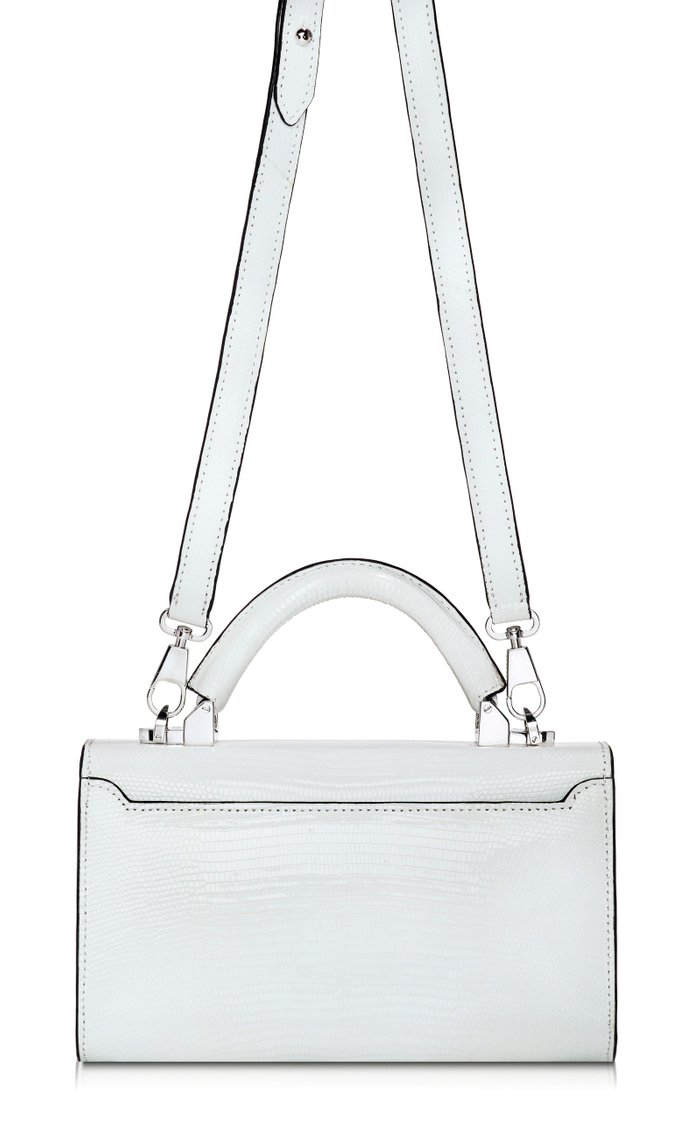 Top Handle 2.0 Lizard Shoulder Bag