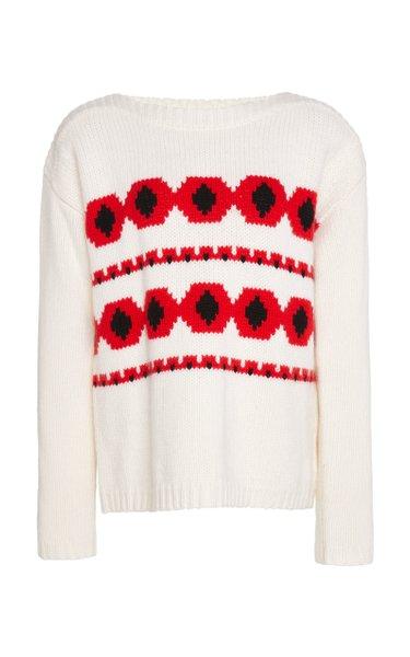 Mahina Intarsia Cashmere Sweater