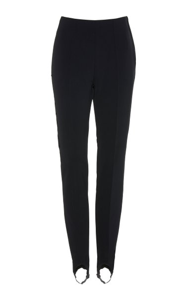 Elaine Stretch-Twill Stirrup Pants