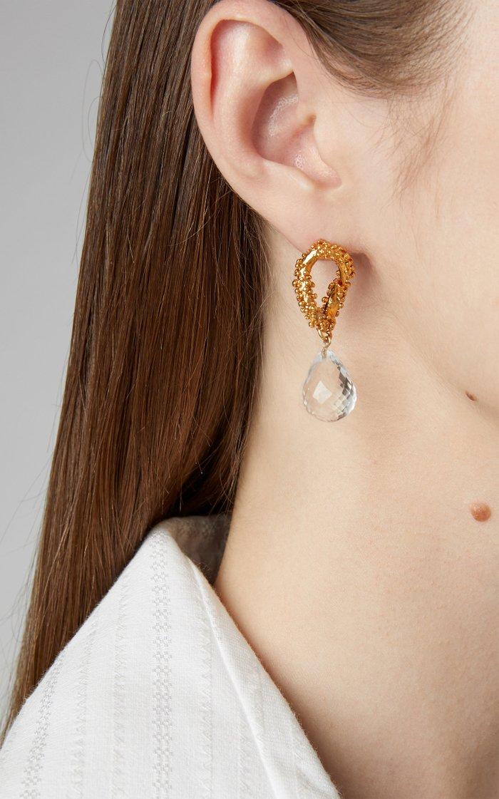 The Initial Spark Earrings