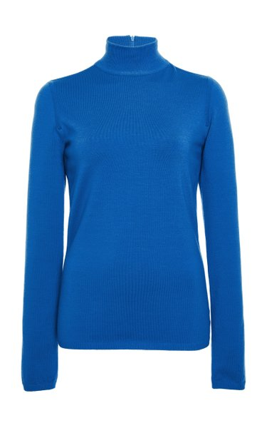 Kipur Virgin Wool Turtleneck Sweater