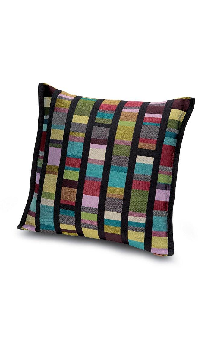 Washington striped jacquard Pillow