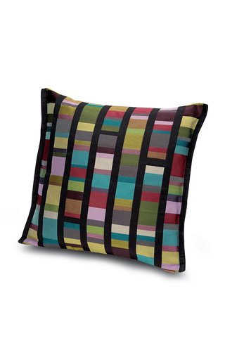 Washington striped jacquard Pillow