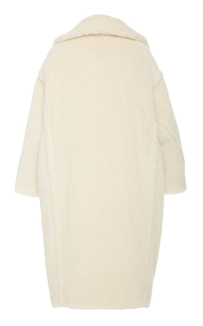 Tedgirl Oversized Alpaca and Wool-Blend Coat